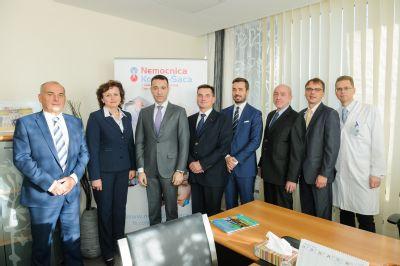 Minister zdravotníctva SR navštívil Nemocnicu Košice-Šaca