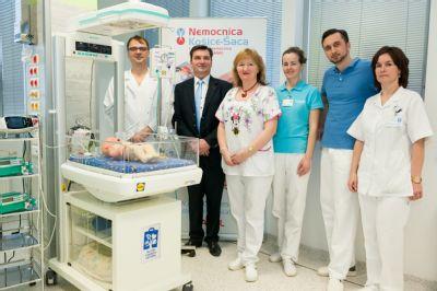 Novorodenecké oddelenie v Nemocnici Košice-Šaca dostalo život zachraňujúce prístroje pre novorodencov