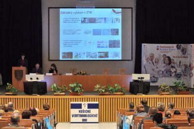 V Košiciach sa uskutočnil 15. ročník KOŠICKÝCH VERTEBROLOGICKÝCH DNÍ