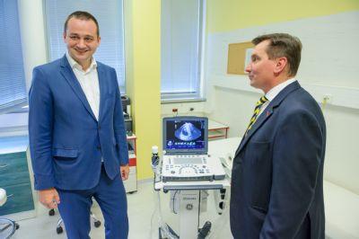 Gynekologicko-pôrodnícka klinika dostala nový mobilný USG prístroj