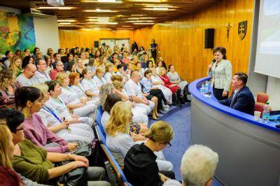Na vzdelávacom podujatí V Nemocnici Košice-Šaca sa stretli sestry z celého Košického kraja