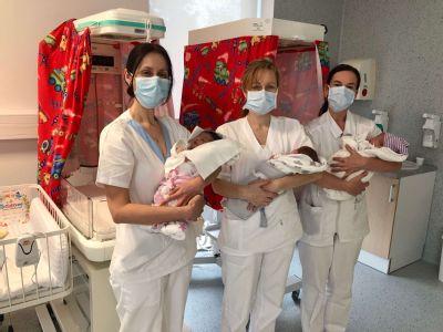 V pôrodnici v Šaci sa rodí stále viac detí