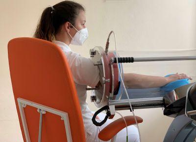 Študenti na Klinike liečebnej rehabilitácie v Šaci : Prax nám veľmi chýbala